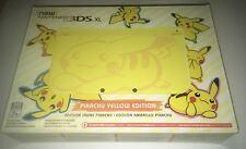 Nintendo Pikachu Yellow Edition New Nintendo 3DS XL Console Limited Edition