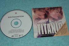 James Horner Maxi CD Southampton - 2-tr. Promo In Cardsleeve Titanic Soundtrack