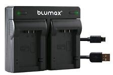 Akku Dual Ladegerät für Panasonic Lumix DMC-FZ100 / DCM-FZ150 |90108-90640|