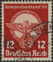 Stamp Germany Mi 690 Sc 491 1939 WW2 3rd Reich Occupational Competition Used