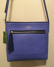 NWT Kate Spade DESSI Chester Street OCEAN BLUE Purse Cross Body $229 Leather