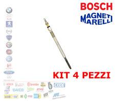 KIT 4 PEZZI CANDELETTA FORD FIESTA 6 FOCUS FUSION MAZDA 2 3 VOLVO C30 V50 1.6