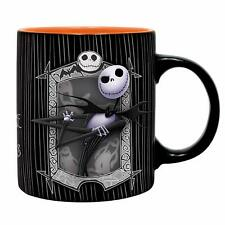 OFFICIAL NIGHTMARE BEFORE CHRISTMAS JACK AND ZERO COFFEE MUG CUP NEW IN BOX