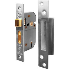 NEW Yale BS 5 Lever Mortice Sashlock 64mm Pol. Chrome Each