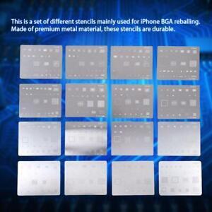 27Pcs//set BGA Reballing Universal Stencils with Template Jig for SMT SMD Chip