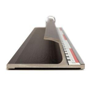 GraphicPro Heavy Cutter Rule 4mm Aluminium Cutting Ruler 75cm Non-Slip