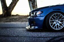 BMW E46 IS Lippe Spoilerlippe Splitter M3 Lippe spoiler splitter lip