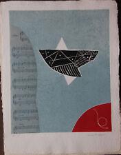 Max PAPART - 3 gravures au carborundum Signe de Terre Michel Bohbot 1976 *