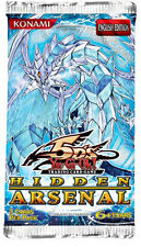 Yugioh Hidden Arsenal Booster Pack Unlimited Edition Sealed Fast Shipping!