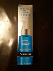 Neutrogena Hydro Boost City Shield facial gel mist 3.3 FL oz