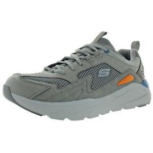 Skechers Mens Verrado-Randen Gray Casual Shoes Sneakers 9.5 Medium (D) BHFO 4779