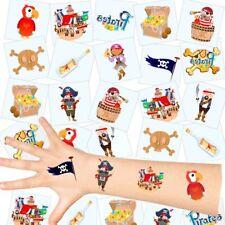 German Trendseller® - Piraten Kinder Tattoos - Set | NEU