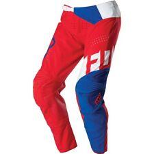 Fox Racing Mens Flexair Libra Limited Edition Pants Blue/Red 34