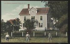 Postcard Pembroke New Hampshire/Nh J.H. Dearborn Large Family House/Home 1907