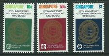 SINGAPORE SG382/4 1980 PROVIDENT FUND BOARD MNH