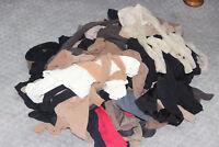 100 lot HUE Calvin Klein Berkshire nylon tights stocking hosiery mixed new/craft