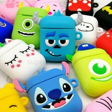 Wireless Earbuds Case Cartoon Silicone Cover case For Earphone headset Case girl