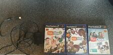 PS2 PS2 Eyetoy Camera BLACK - Playstation 2 & 3 Disc Bundle