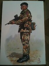 Military Postcard Rifleman Royal Gurkha Rifles by Alix Baker