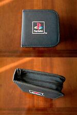SONY Playstation BLACK Original CD Case Bag Porta CD morbido 14 pagine Nuovo/New