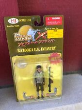 MIP 1:18 Ultimate Soldier XD action figure #10205 - BAZOOKA US INFANTRY