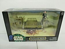 HASBRO - STAR WARS POWER OF THE FORCE - TATOOINE SKIFF - NEW!!! (A)