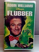 Disney's FLUBBER (VHS 1998) Starring Robin Williams in Clamshell Case, Like New!