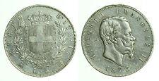 pci0480) Regno Vittorio Emanuele II  lire 5 scudo 1875 Mi