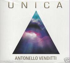 CD ♫ Compact disc **ANTONELLO VENDITTI ♦ UNICA** nuovo sigillato Digipack