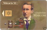 Télécarte - Les grandes figures de la communication - Giuglielmo MARCONI (A2924)