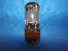 Vintage Raytheon 5881 = 6L6WGB Beam Power Tetrode Vacuum Tube - Lt. Brown Base