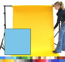 SKY BLUE Creativity Photographic Background Paper 1.35 x 11m Roll - 101260