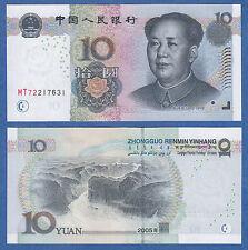 China 10 Yuan P 904 2005 Unc Low Shipping! Combine Free! Mao Tse Tung