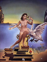 Lady Atomica  by Salvador Dali  Giclee Canvas Print  Repro