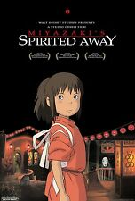 Spirited Away movie poster (a) : 11 x 17 inches : Miyazaki