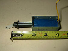 Open Frame Solenoid Actuator 12V/24V DIY Robot Robotics Automation TDS-12EL