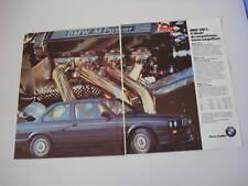 advertising Pubblicità 1986 BMW 318 iS