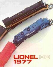 1977 LIONEL TRAINS HO CATALOG VERY GOOD