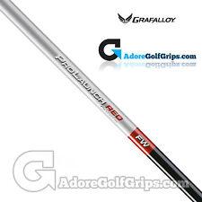 """Grafalloy ProLaunch Red FAIRWAY WOOD Shaft -  REGULAR FLEX - 0.335"""" Tip - Red"""