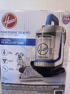 Hoover PowerDash Go Pet+ Compact Spot Carpet Cleaner Sealed Never Used