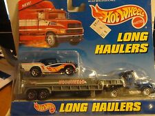 Hot Wheels Long Haulers Semi w/'57 Chevy Bel Air