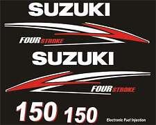 Adesivi motore marino fuoribordo Suzuki 150hp four stroke