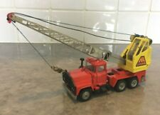 Boxed Corgi Toys #1154 Die Cast 1/43 Scale Mack Priestman Crane Truck 1974