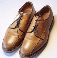 ALLEN EDMONDS Hillcrest Sz 10.5 3E Walnut Bicycle Toe Men's Leather Dress Shoes