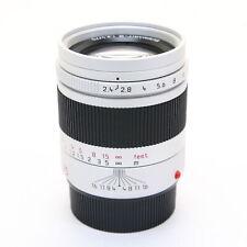 Leica Summarit M75mm F/2.4 Silver -Near Mint- #108