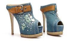 Women's Geometric Platforms and Wedge Heels