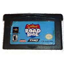 The Simpsons Road Rage + Free Screen Protective Cover for GBA(Not SP)