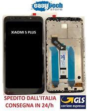 Touch Screen  LCD Display ORIGINALE con Frame Per XiaoMi Redmi 5 PLUS Nero