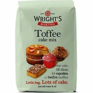 Wrights 5 x 500g Toffee Cake Mix
