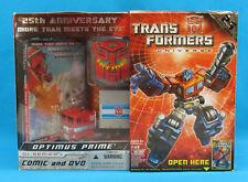 Transformers Universe OPTIMUS PRIME G1 Series 25th Anniversary w/ Comic New!